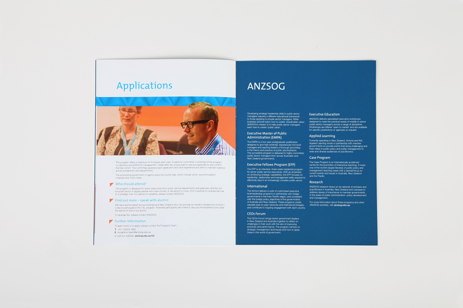 ANZSOG Core Brochure
